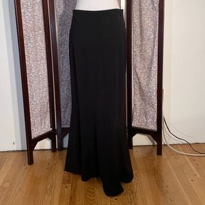 WHBM black maxi skirt.